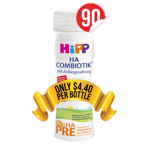 90 Pieces of HiPP Ready-to-Feed HA Stage PRE (200ml)