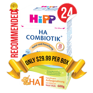 24 Boxes of HiPP HA Stage 1 (600g)
