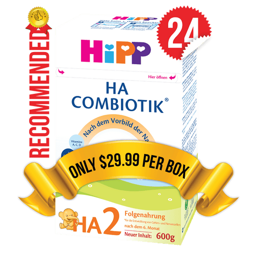 24 Boxes of HiPP HA Stage 2 (600g)