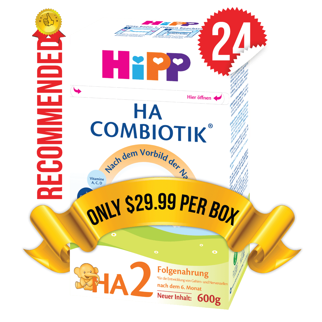 24 Boxes of HiPP HA Stage 2 (500g)