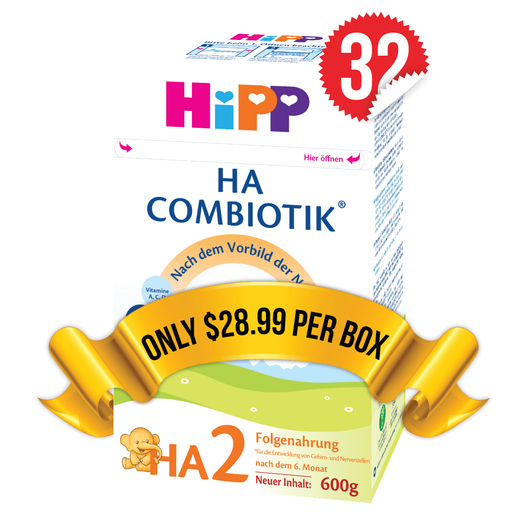 32 Boxes of HiPP HA Stage 2 (600g)