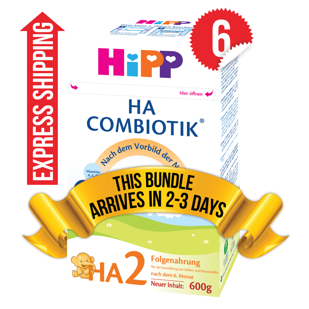 6 Boxes of HiPP HA Stage 2 (600g)
