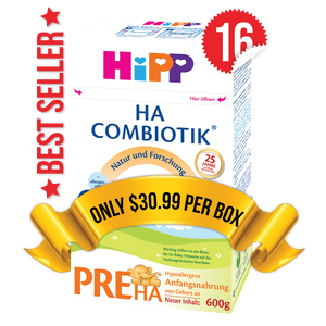 16 Boxes of HiPP HA Stage PRE (500g)