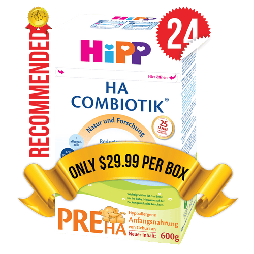 24 Boxes of HiPP HA Stage PRE (500g)
