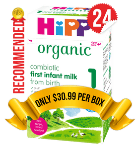 24 Boxes of HiPP U.K. Stage 1 (800g)