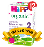 12 Boxes of HiPP U.K. Stage 2 (800g)