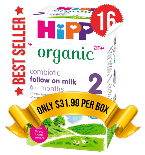 16 Boxes of HiPP U.K. Stage 2 (800g)