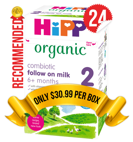24 Boxes of HiPP U.K. Stage 2 (800g)