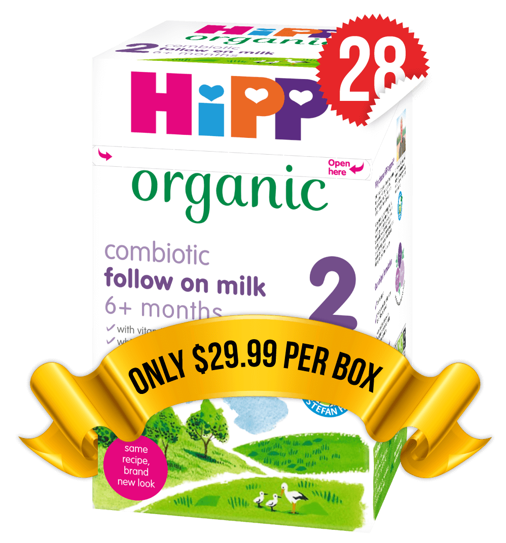 28 Boxes of HiPP U.K. Stage 2 (800g)