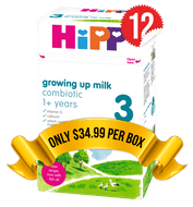 12 Boxes of HiPP U.K. Stage 3 (600g)