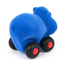 "Load image into Gallery viewer, Aniwheelies Blue Hippo (3.5"")"