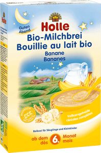 Organic (Bio) Milk Porridge Cereal with Banana (250g)