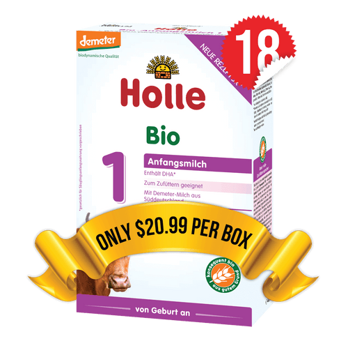 18 Boxes of Holle Stage 1 (400g)