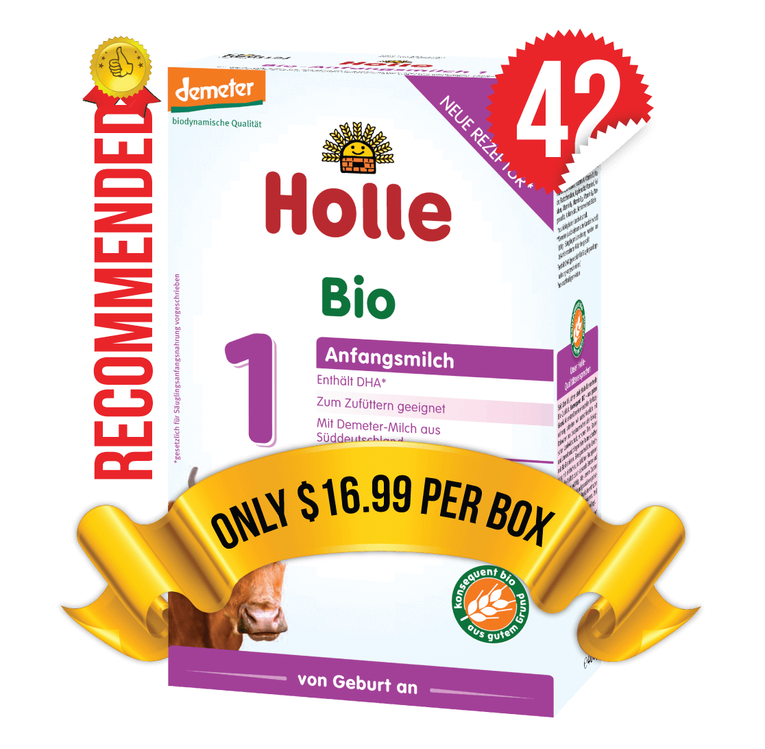 42 Boxes of Holle Stage 1 (400g)