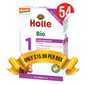 54 Boxes of Holle Stage 1 (400g)
