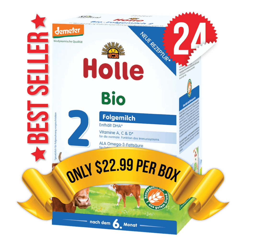 24 Boxes of Holle Stage 2 (600g)