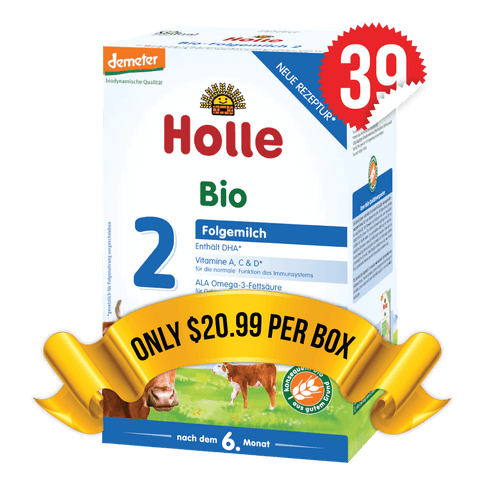 39 Boxes of Holle Stage 2 (600g)