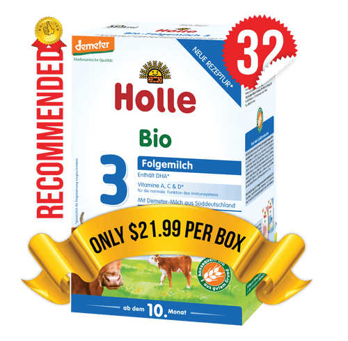 32 Boxes of Holle Stage 3 (600g)