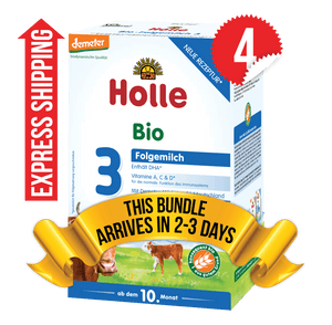 4 Boxes of Holle Stage 3 (600g)