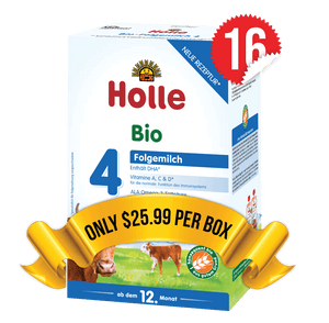 16 Boxes of Holle Stage 4 (600g)