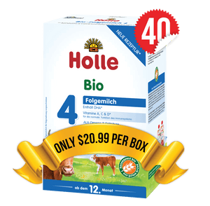 40 Boxes of Holle Stage 4 (600g)