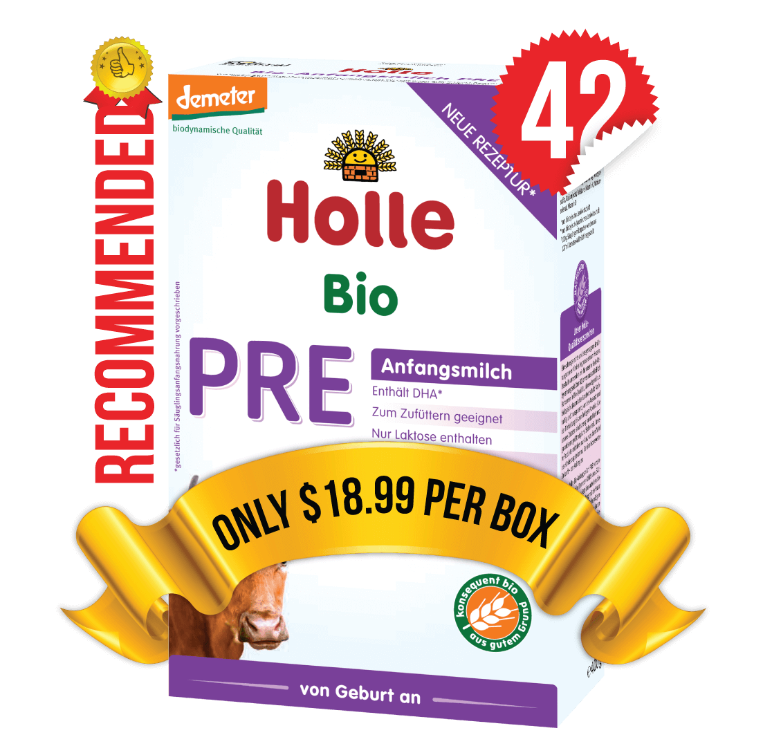 42 Boxes of Holle Stage PRE (400g)