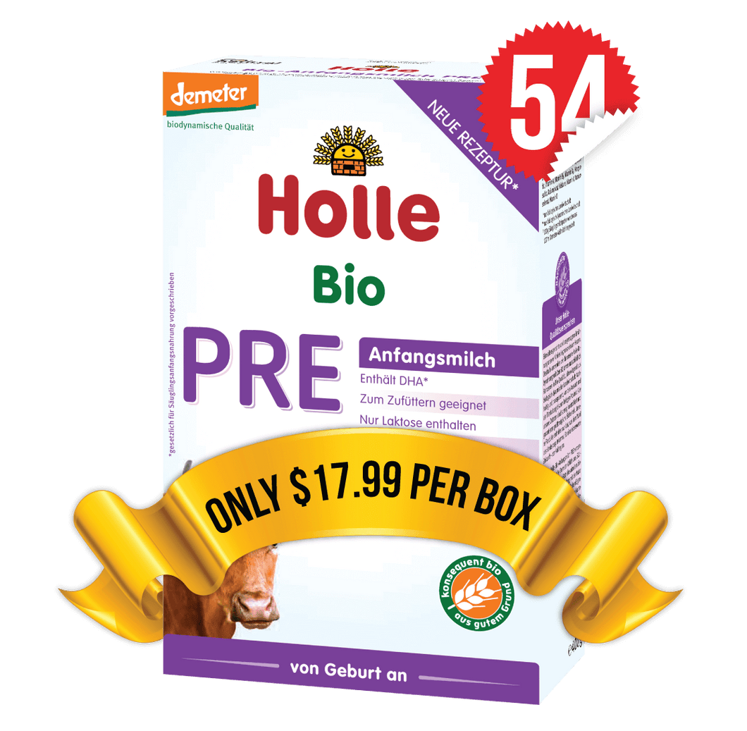 54 Boxes of Holle Stage PRE (400g)