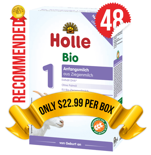 48 Boxes of Holle Goat Stage 1 (400g)