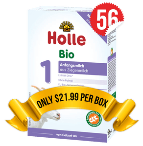 56 Boxes of Holle Goat Stage 1 (400g)