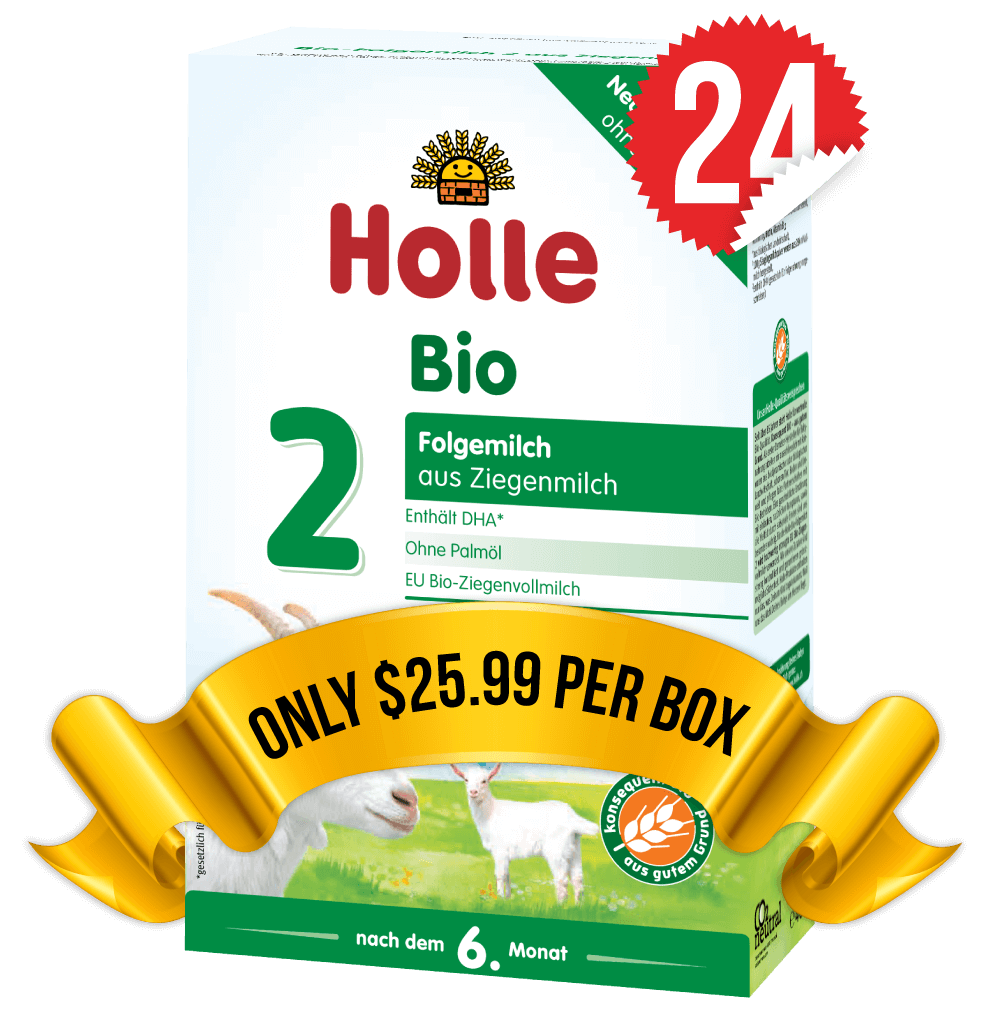 24 Boxes of Holle Goat Stage 2 (400g)