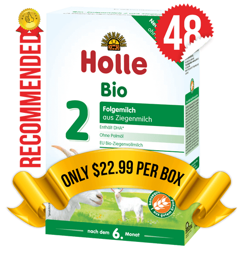48 Boxes of Holle Goat Stage 2 (400g)