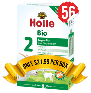 56 Boxes of Holle Goat Stage 2 (400g)