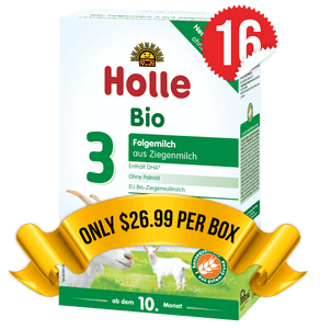 16 Boxes of Holle Goat Stage 3 (400g)
