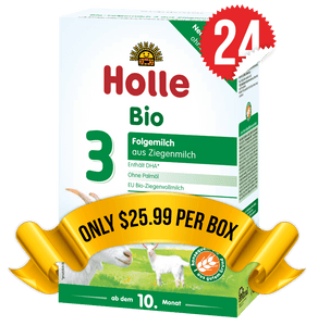 24 Boxes of Holle Goat Stage 3 (400g)