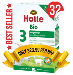 32 Boxes of Holle Goat Stage 3 (400g)