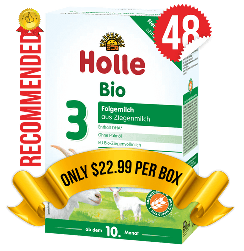 48 Boxes of Holle Goat Stage 3 (400g)