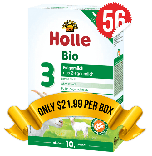 56 Boxes of Holle Goat Stage 3 (400g)