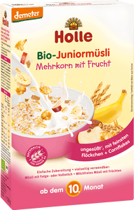Organic (Bio) Junior Muesli Cereal: Multigrain with Fruits