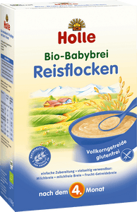 Rice Flakes (Reisflocken) Organic (Bio) Porridge Cereal (250g)