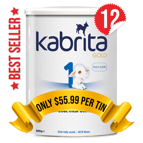 12 Tins of Kabrita Stage 1 (800g)
