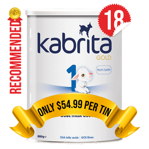 18 Tins of Kabrita Stage 1 (800g)
