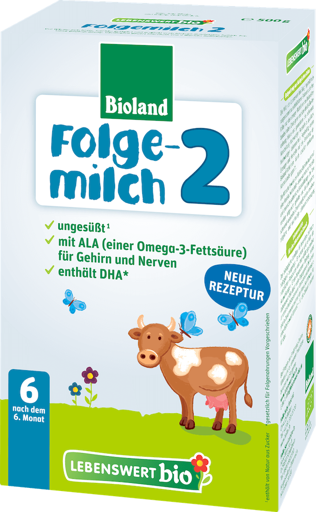 Lebenswert Stage 2 Organic (Bio) Follow-on Infant Milk Formula (500g)