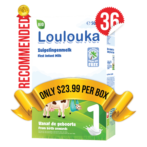 36 Boxes of Loulouka Stage 1 (500g)
