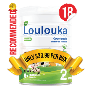 18 Tins of Loulouka Stage 2 (900g)