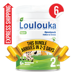 6 Tins of Loulouka Stage 2 (900g)