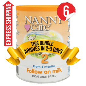 6 Tins of NANNYCare Stage 2 (900g)