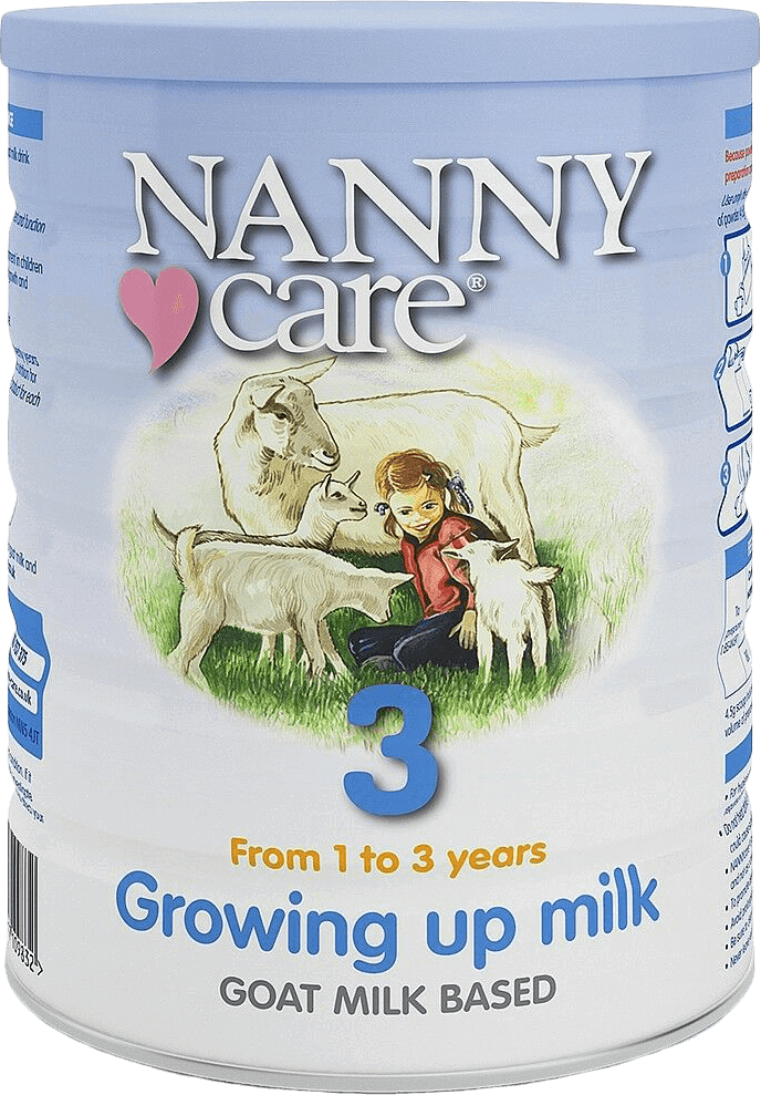 NANNYCare Stage 3 Growing Up Goat Milk Formula (900g)