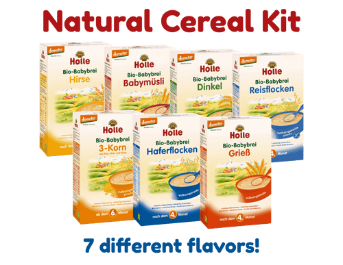 Organic Baby Porridge Cereal Collection (7 Boxes)