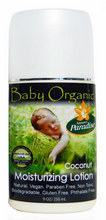 Load image into Gallery viewer, Baby Organic Moisturizing Lotion (Coconut) (9 fl oz)