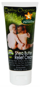 Baby Organic Shea Butter Relief Cream (3 fl oz)
